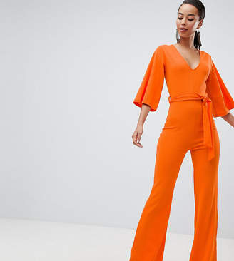 Missguided Tall belted jumpsuit