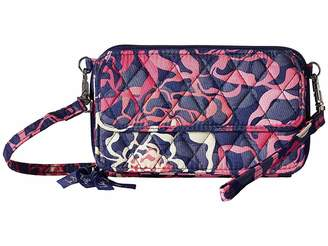 Vera Bradley All-In-One Crossbody For iPhone 6 Wristlet Handbags
