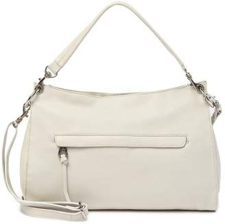 Joelle Gagnard Hawkens Normandie Leather Top Zip Shoulder Bag