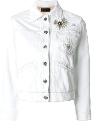 Isabel Marant Ensley embroidered jacket