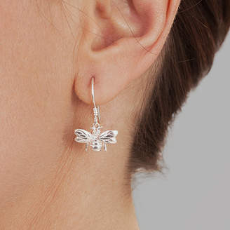 Bumble Bee Hersey Silversmiths Silver Earrings