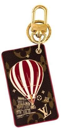 Louis Vuitton Monogram Illustrè Air Balloon Bag Charm