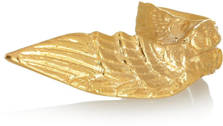Yunus & Eliza Britannia gold-plated ring