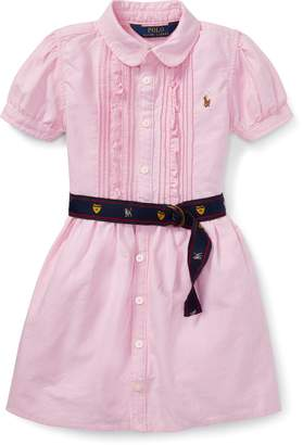Ralph Lauren Belted Oxford Shirtdress