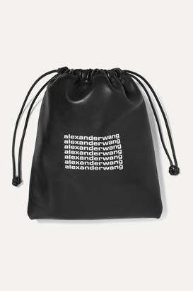 Alexander Wang Ryan Mini Printed Leather Tote - Black