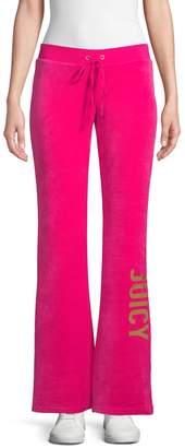 Juicy Couture Logo Velour Sweatpants