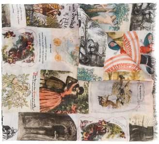 Faliero Sarti (ファリエロ サルティ) - Faliero Sarti Yesterday printed scarf