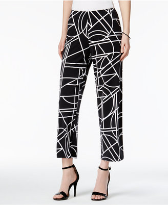 Alfani Printed Culotte Pants, Only at Macy's $59.50 thestylecure.com