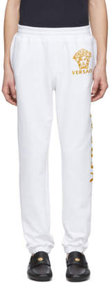 Versace White Medusa Lounge Pants