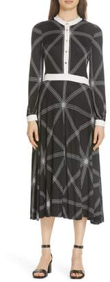 Tory Burch Anja Midi Dress