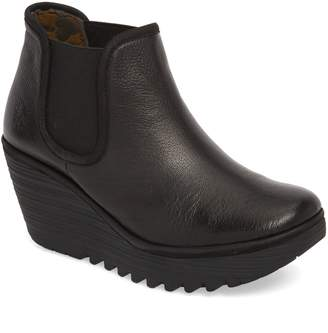 Fly London 'Yat' Wedge Bootie