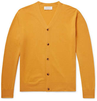 Studio Nicholson Santo Slim-Fit Merino Wool And Cashmere-Blend Cardigan