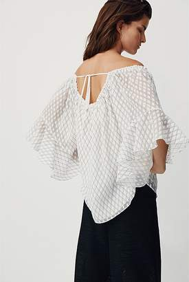 Country Road Diamond Burnout Top
