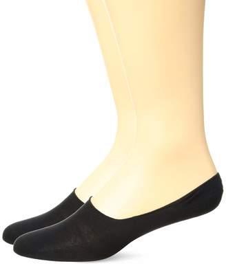HUGO BOSS Men's 2-Pack Solid Cotton Shoe Liner Sock