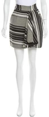 Marissa Webb Jacquard Mini Skirt