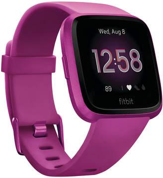 Fitbit Versa Lite Mulberry Strap Smart Watch 39mm