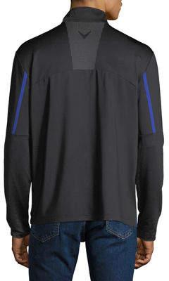 Callaway Men's Mock-Neck Pullover Jacket