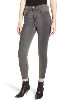 SP Black Seam Front Skinny Jeans