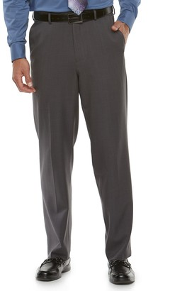 Croft & Barrow Big & Tall Classic-Fit Easy-Care Flat-Front Dress Pants