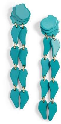 Lele Sadoughi Confetti Wisteria Drop Earrings