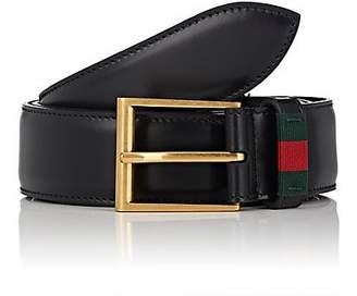 Gucci Men's Leather Belt - Black