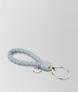 Bottega Veneta ARCTIC INTRECCIATO NAPPA KEY HOLDER