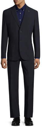 Michael Bastian Gray Label Tartan Plaid 2Bsv Wool Suit & Pant