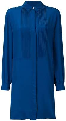 Paul Smith pleated front shirt dress