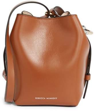 Rebecca Minkoff Kate Mini Leather Bucket Bag
