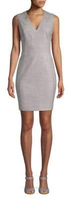 T Tahari Lakira Sleeveless Sheath Dress