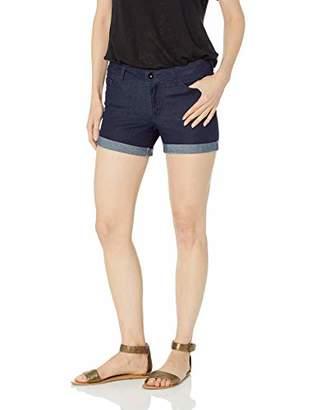 Vero Moda Women's Hot Bueno Denim Fold Shorts