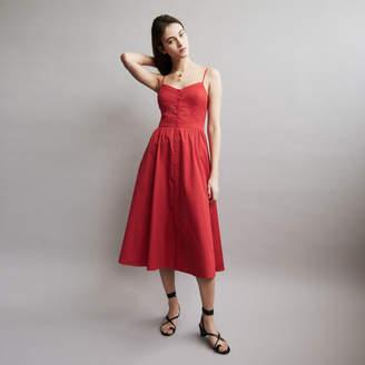 Maje Maxi dress with crop top