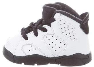 Jordan Boys' Leather High-Top Sneakers