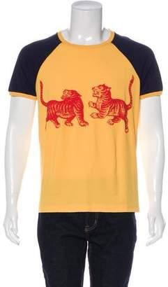 Gucci 2017 Tigers Raglan T-Shirt