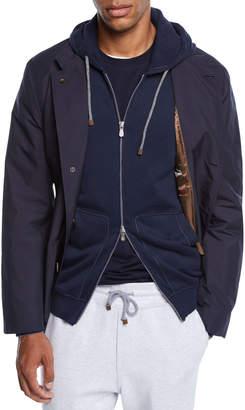 Brunello Cucinelli Men's Nylon Blazer