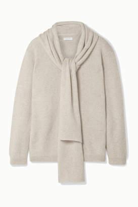 Melange Home Deveaux - Draped Cashmere Sweater - Cream