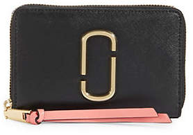 Marc Jacobs Small Standard Leather Zip-Around Wallet
