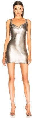 Fannie Schiavoni Metal Mesh Dress