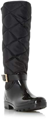 Dune LADIES THUNDER - Quilted Wellington Boot