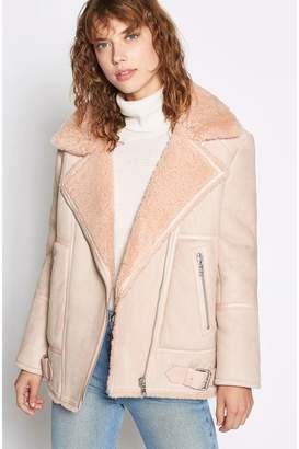 Joie Darnesha Shearling Coat