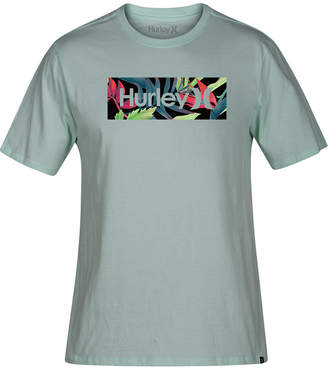 Hurley Men's One & Only Tropics Logo Graphic T-Shirt