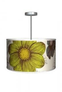 Thomas Paul Lighting Medium Drum Pendant Lamp - Botany