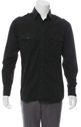Tom Ford Casual Military Shirt