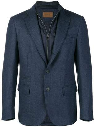 Corneliani double layer illusion blazer