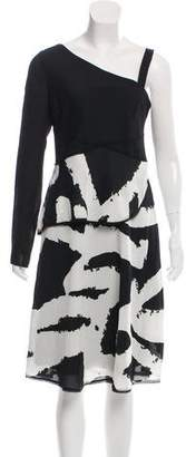 Proenza Schouler Printed Midi Dress w/ Tags