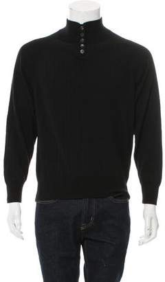 The Row Cashmere Rib Knit Sweater