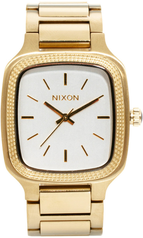Nixon Shelley Gold Watch