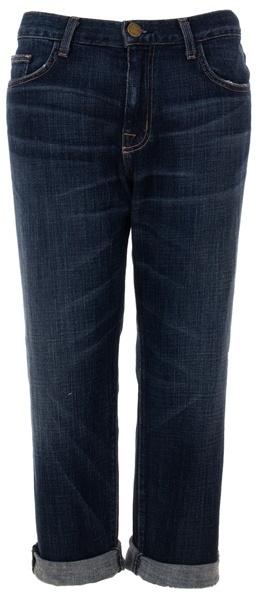 CURRENT ELLIOTT - worn-in boyfriend jeans