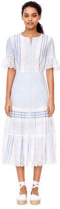 La Vie Variegated Stripe Dress $350 thestylecure.com
