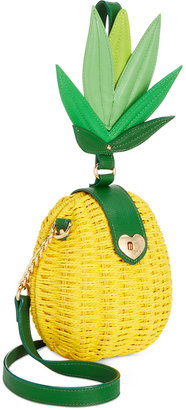Betsey Johnson Pineapple Small Crossbody $88 thestylecure.com